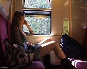 Sans Métro Fixe : dans le train